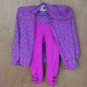 Girls workout suit